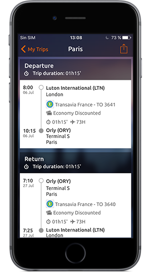 Mobile app: Find flights, hotels and holiday deals on Opodo