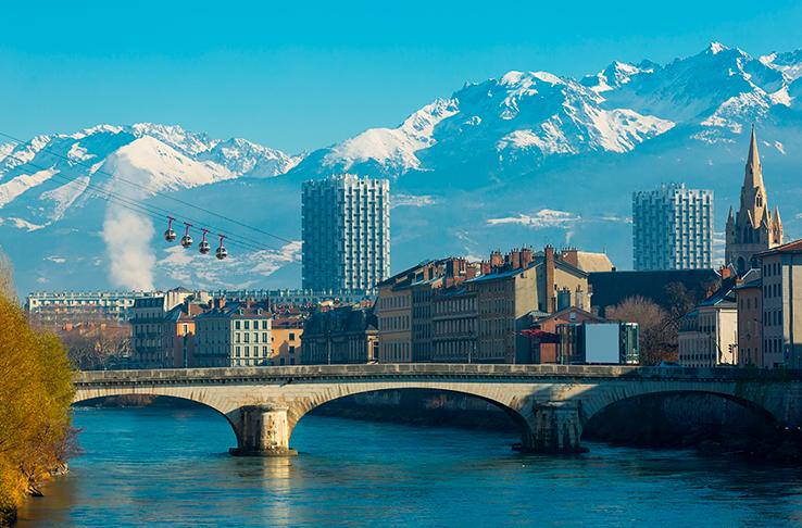 location de voitures à Grenoble