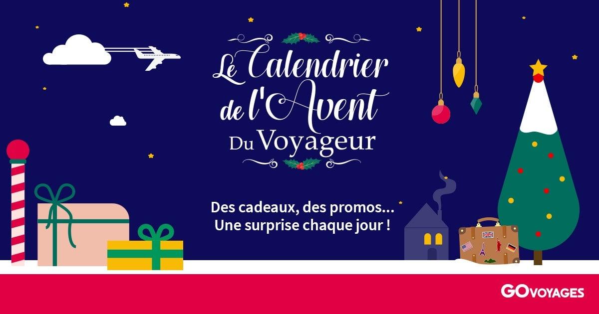 7671dee8697026 Calendrier de l Avent   Fêtes de Noël 2018 avec GO Voyages