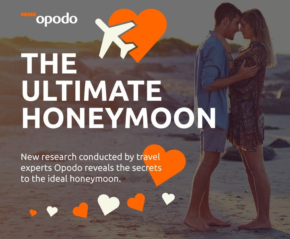 infograph honeymoon