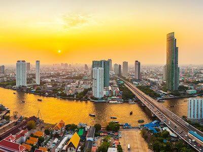 Vuelos de Etihad Airways de Barcelona a Bangkok