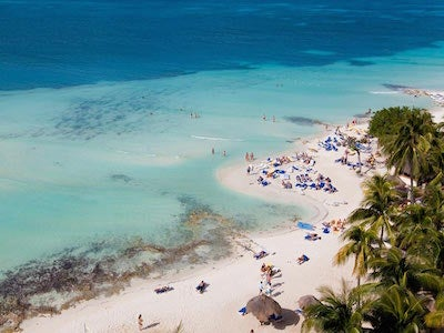 Book flights from {var.secondOriginCityName} to Cancun with Spirit Airlines