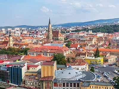 Pasajes en avión de Barcelona a Cluj-Napoca con Wizz Air
