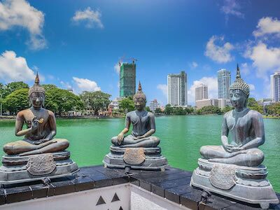 Cheap flights from Singapore to Colombo with Srilankan Airlines