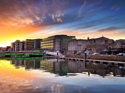 Cheap flights from Amsterdam to Cork with Klm Royal Dutch Airlines