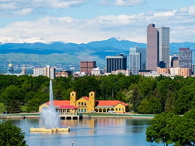 Flights from Guangzhou to Denver with All Nippon Airways