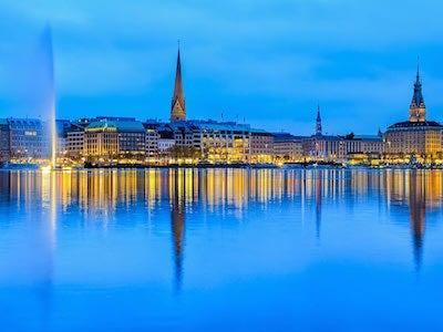 Flüge von Zürich nach Hamburg mit Eurowings