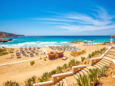 Cheap flights from Palma de Mallorca to Ibiza with Iberia