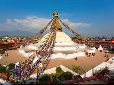 Discover flights from Manchester to Kathmandu with Qatar Airways