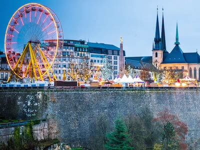 Cheap flights from Belgrade to Luxembourg with Luxair