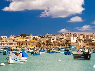 Vuelos Ámsterdam - Malta de Air Malta