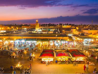 Book flights from Oujda to Marrakech  with Royal Air Maroc