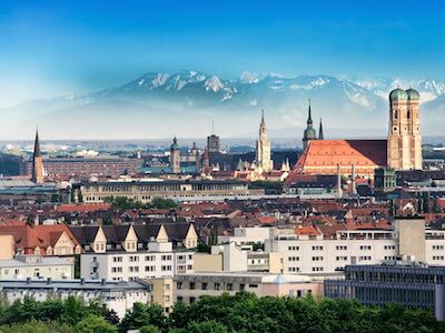 Cheap flights from Luxembourg to Munich with Luxair