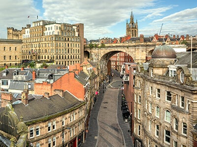 Book flights from Larnaca to Newcastle with Jet2