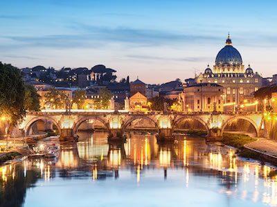 Buchen Sie günstige Flüge von München nach Rom mit Lufthansa