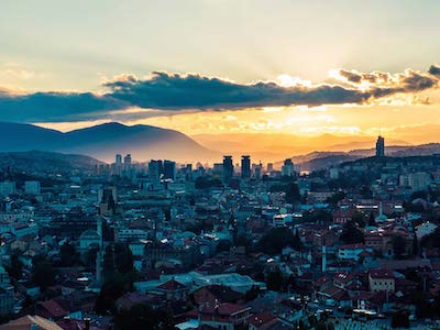 Cheap flights from Belgrade to Sarajevo with Air Serbia