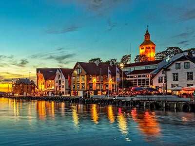 Book flights from Oslo to Stavanger with Norwegian Air Shuttle
