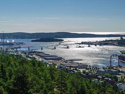 Günstige Flüge mit Scandinavian Airlines von Frankfurt nach Sundsvall