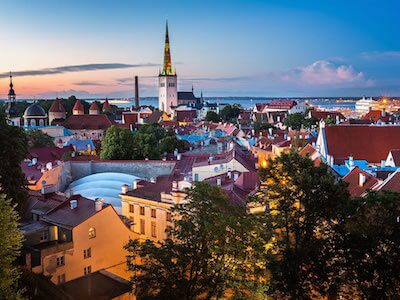 Book flights from Malaga to Tallinn with Scandinavian Airlines