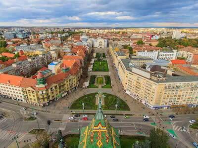 Vuelos baratos de Barcelona a Timisoara con Wizz Air