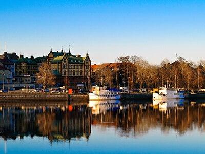 Vols Scandinavian Airlines entre Bruxelles et Umeå