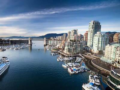 Cheap flights from Quebec to Vancouver with Air Transat
