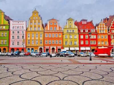 Vuelos de Lot Polish Airlines de Varsovia a Breslavia